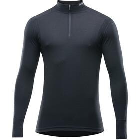 d8390847c92c1 Devold Hiking T-shirt manches longues col montant avec demi-zip Homme, black